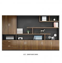 FAX88 精選 大班檯 辦公桌 經理檯 2800X400X2000櫃