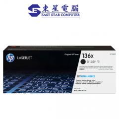 HP 136X 原裝碳粉  高容量 黑色 W1360X   LaserJet Toner W1360
