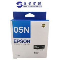 Epson WF-7841 原裝墨盒 T05N墨水系列 C13T05N183 - 黑色墨水