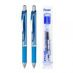 Pentel XBLN35 (BLN-75) 按掣啫喱筆 兩筆一芯套裝