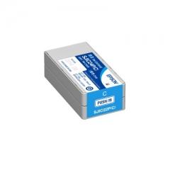 EPSON C33S020587 SJIC24P 原裝墨水 藍色 FOR C3520