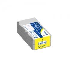 EPSON C33S0205789 SJIC24P 原裝墨水 黃色 FOR C3520