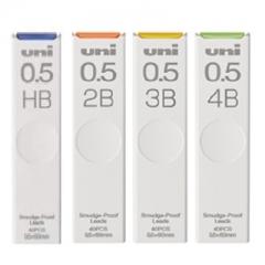 UNI UL-S 0.5鉛芯 40支裝 4B