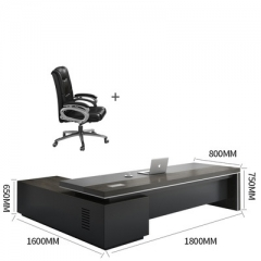 FAX88 卡納系列 大班枱 大班桌 辦公桌 L型1800X800MM+大班椅