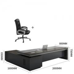 FAX88 卡納系列 大班枱 大班桌 辦公桌 L型2000X800MM+大班椅