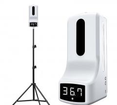 AutoMax K9 Pro系列 二合一  紅外線測温儀 + 搓手液機 三角腳架