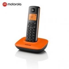 motorola T401 Plus Blk_Org 數碼室內無線電話