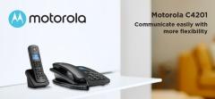 motorola Corded Telephone 數碼室內無線電話