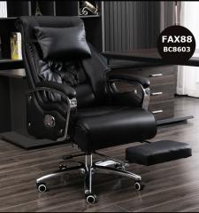FAX88 Boss Chair 系列 大班椅 簡約黑色 BC8603