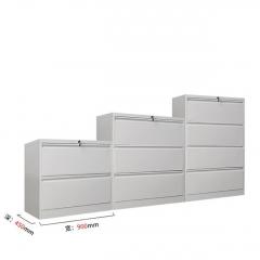 AUTOMAX 帶鎖掛文件鋼櫃 快勞櫃 長90x深45cm 4斗一字抽132cm高