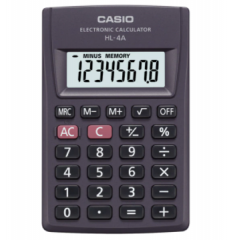 Casio HL-4A 便攜型計數機