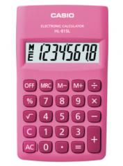 Casio HL-815L-PK 便攜型計數機 粉紅色