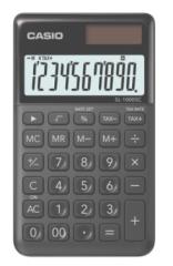 Casio SL-1000SC-BK 便攜型計數機