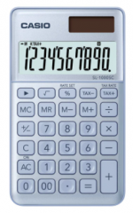 Casio SL-1000SC-BU 便攜型計數機