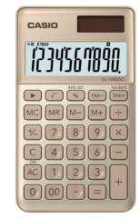 Casio SL-1000SC-GD 便攜型計數機