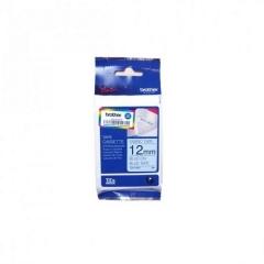 Brother TZE-FA53印燙布標籤帶12mm藍布藍字