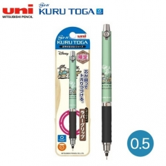 Uni Kurutoga M5-856DS 0.5自動旋轉鉛芯筆 迪士尼限量版 0.5 CHIP &