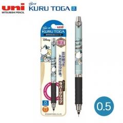 Uni Kurutoga M5-856DS 0.5自動旋轉鉛芯筆 迪士尼限量版 0.5 DONALD