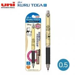 Uni Kurutoga M5-856DS 0.5自動旋轉鉛芯筆 迪士尼限量版 0.5 WINNIE