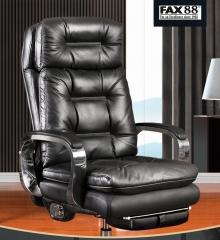 FAX88 Boss Chair BC8800系列 大班椅 簡約 BC8802卡其色+後躺+擱腳