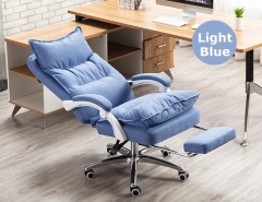 FAX88 Boss Chair 系列 大班椅 簡約 現代布 BC8701 淺藍色