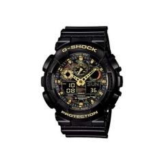 Casio G-SHOCK GA-100CF-1A9DR 黑色+金色