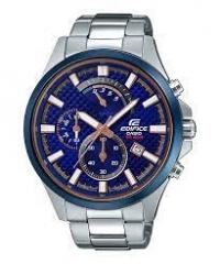 Casio EDIFICE EFV-530DB-2AVUDF 銀色+藍色