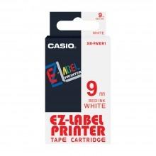 Casio 標簽機色帶 XR-9WER1 白底黑字