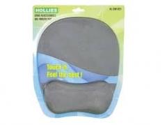 Hollies HL DW-921 啫喱手腕墊連滑鼠墊 灰色