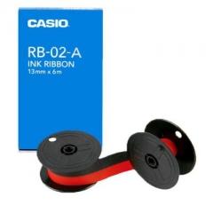 Casio RB-02 計數機用墨轆 紅黑雙色