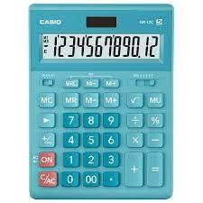 Casio GR-12C-LB 計數機 藍色