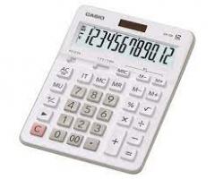 Casio GX-12B-WE 計數機 白色