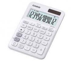 Casio MS-20UC-WE 計數機 白色