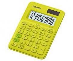 Casio MS-7UC-YG 計數機 黃綠色