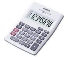 Casio MW-5V-WE 計數機 白色
