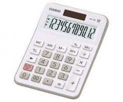Casio MX-12BWE 計數機 白色