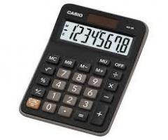 Casio MX-8B 計數機 黑色