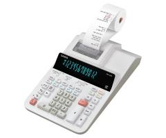 Casio DR-120R-WE 計數機 白色