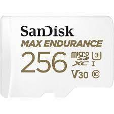 SanDisk MAX ENDURANCE MICROSDHC SQQVR 256 GB