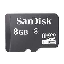 SanDisk Flash MicroSD Class 4 (SDSDQM-B35) 8 GB