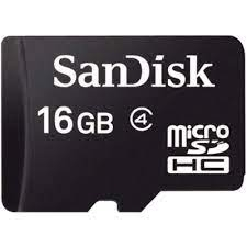 SanDisk Flash MicroSD Class 4 (SDSDQM-B35) 16 GB