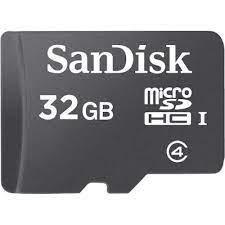 SanDisk Flash MicroSD Class 4 (SDSDQM-B35) 32 GB