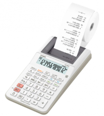 Casio HR-8RC-WE 出紙計數機 白色