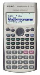 Casio FC-100V 涵數計數機 灰色