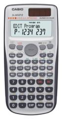 Casio FX-3650PII 涵數計數機 灰色