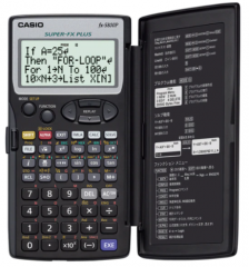 Casio FX-5800P 涵數計數機 黑色