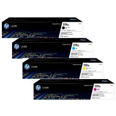 HP 119A 原裝碳粉 119A4色套装