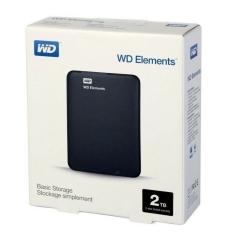 WD 2TB 外置 Hard Disk WD Elements 2TB 可攜式硬碟 2TB