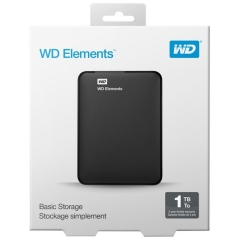 WD 1TB 外置 Hard Disk WD Elements 1TB 可攜式硬碟 1TB