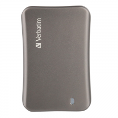 Verbatim VX560 USB 3.1 Gen 2 External SSD 256GB 銀色